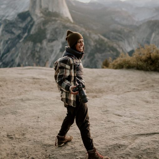 Yosemite Glacier Point Adventure Elopement by Safeena Noah of Little Boat Photography